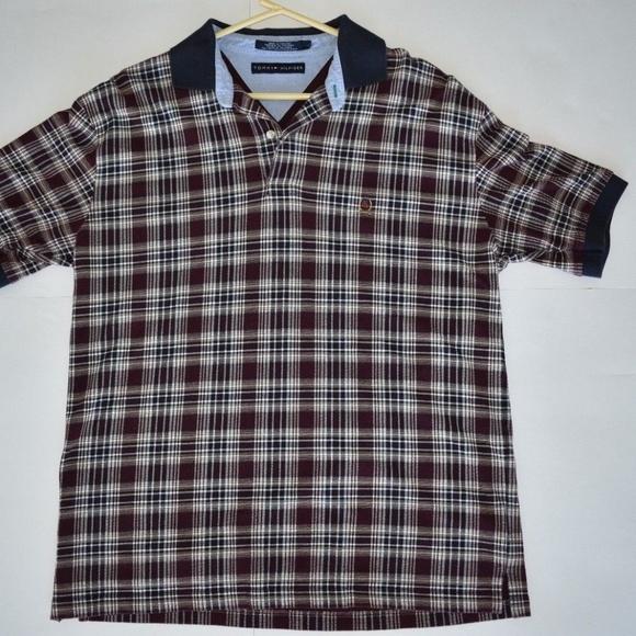 9a4c1a71 Vintage Tommy Hilfiger Men's Polo Crest Logo Large.  M_5b3458cc2e147815eea9e907